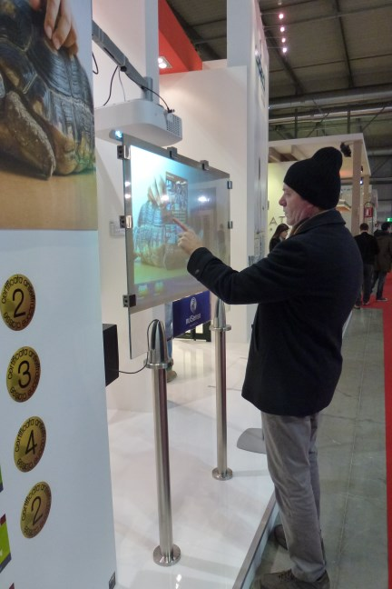 Erreci Sicurezza goes to MADE Expo 2015 with a multitouch showcase