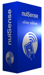 nuiSense multi touch suite silver