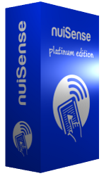 nuiSense multi touch suite platinum